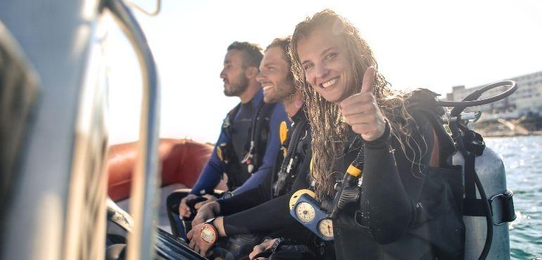 buddy system scuba diving